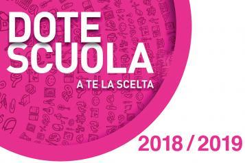"""Dote Scuola 2018/2019 - componente """"Merito"""""""