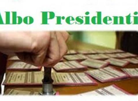 Aggiornamento albo Presidenti di seggio elettorale