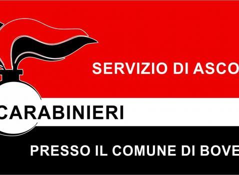 Carabinieri - Servizio di ascolto